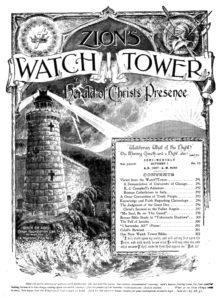Časopis Sionská strážná věž z roku 1907. Zdroj: wikimedia.org